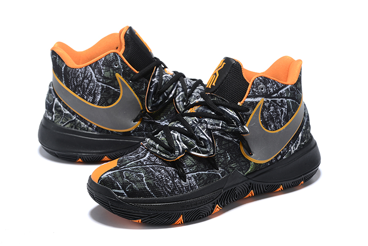 Nike Kyrie 5 Black Orange Joint Shoes