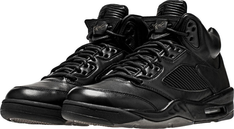 Men Air Jordan 5 All Black