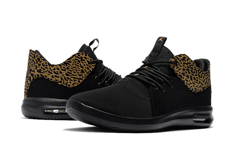 Mens Cheetah Print Jordan Running Shoes 2018 Black