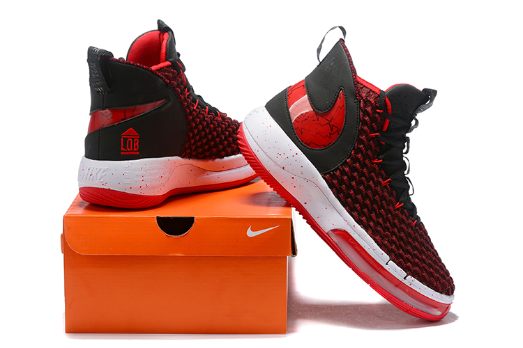 2019 Real Nike AIphaDunk Red Black White Shoes