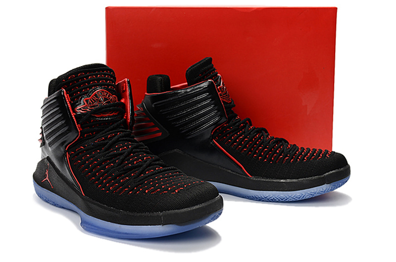 New Air Jordan XXXII Black Red Blue For Women