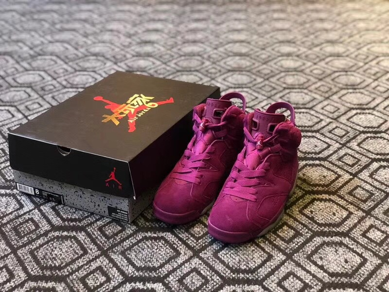 1cc2569a779 New Men Air Jordan 6 Bordeaux Burgundy Wine Red Shoes [REALAJS338 ...
