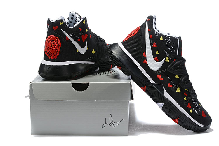 2019 Real Nike Kyrie 5 Black Red White