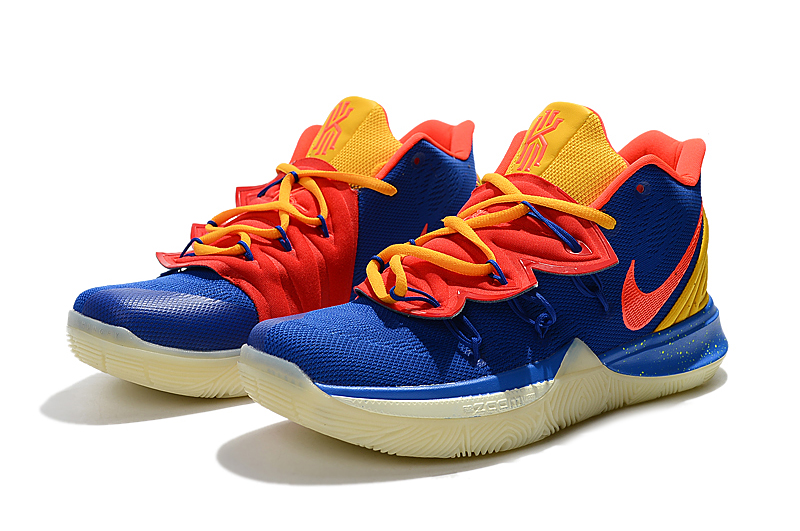 2019 Nike Kyrie 5 Blue Yellow Orange