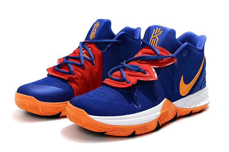 2019 Nike Kyrie 5 Blue Yellow Red
