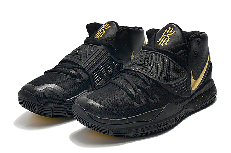 2019 Real Nike Kyrie 6 Black Gold