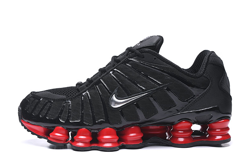 2019 Nike Shox TL1 Black Red Shoes
