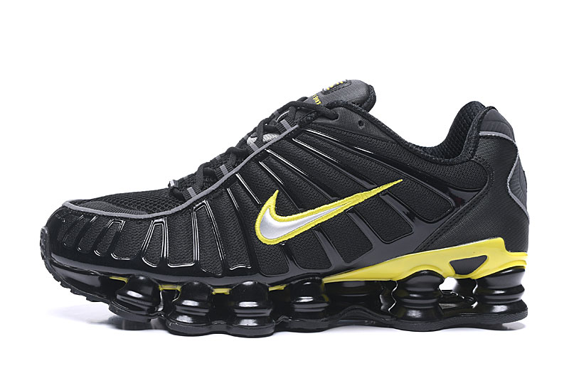 2019 Nike Shox TL1 Black Yellow Shoes