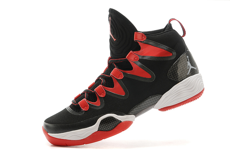 3df46f930ef8 Cheap 2015 Air Jordan 28 Black Red White Shoes