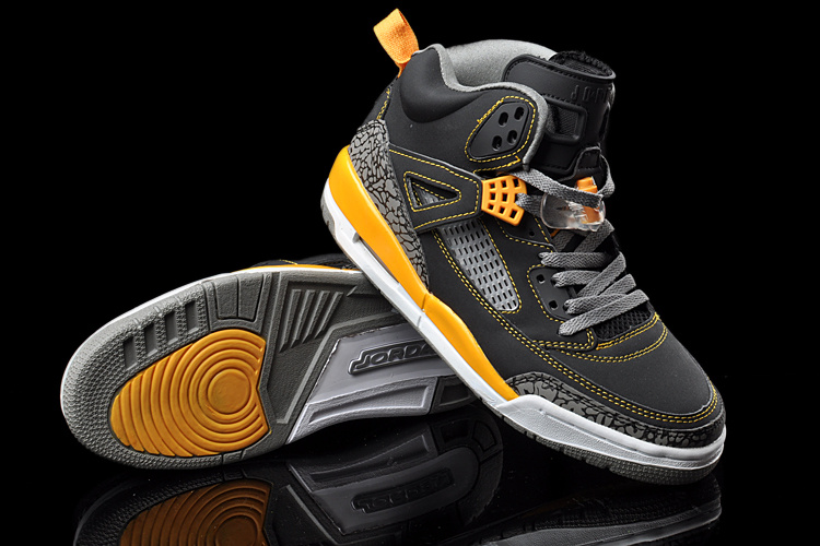 New Jordan Retro 3.5 Black Yellow White