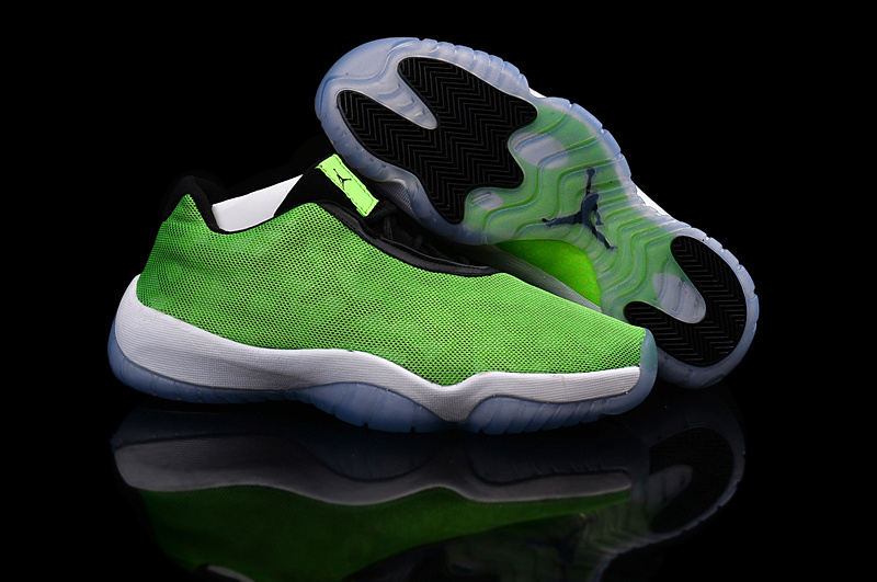 New Air Jordan Future Low Light Poison Green