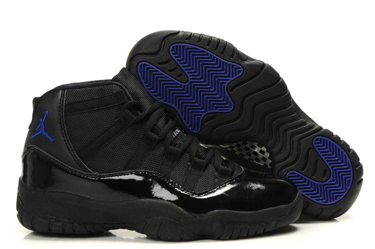Authentic Cheap Jordan Retro 11 Black Blue