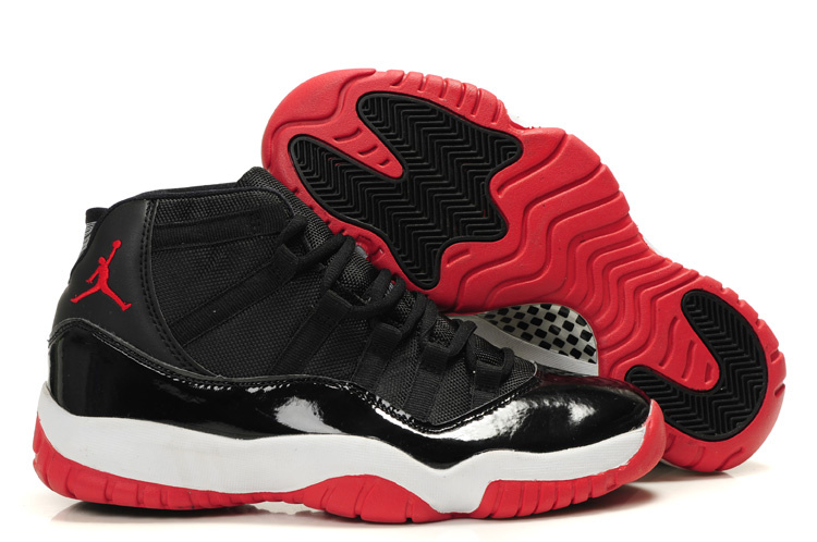 Authentic Cheap Jordan Retro 11 Black White Red