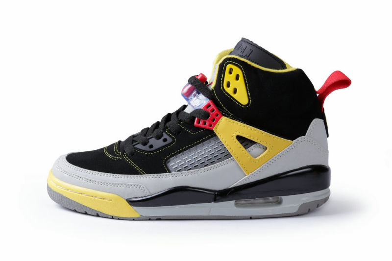quality design c4db0 0323c Classic Jordan Spizike Black Grey Yellow Shoes
