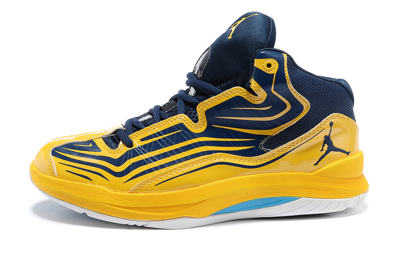 2013 Jordan Vintage Blue Yellow