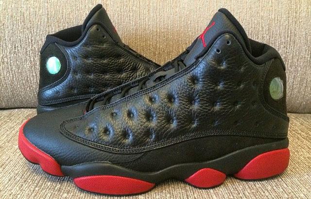 d201add7b91 New Jordan 13 Retro Black Wine Red Shoes
