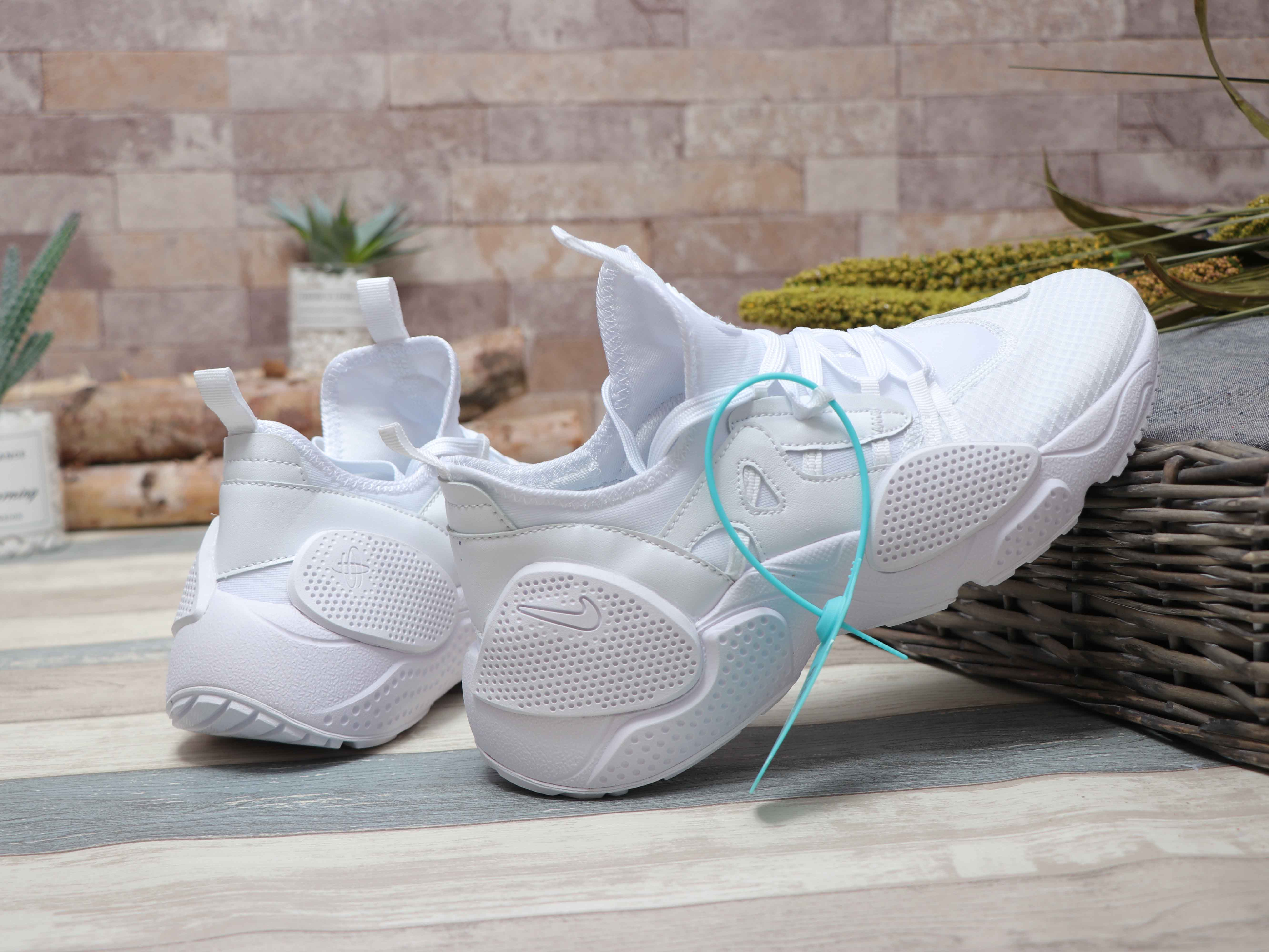 Nike Air Huarache 7 All White Shoes