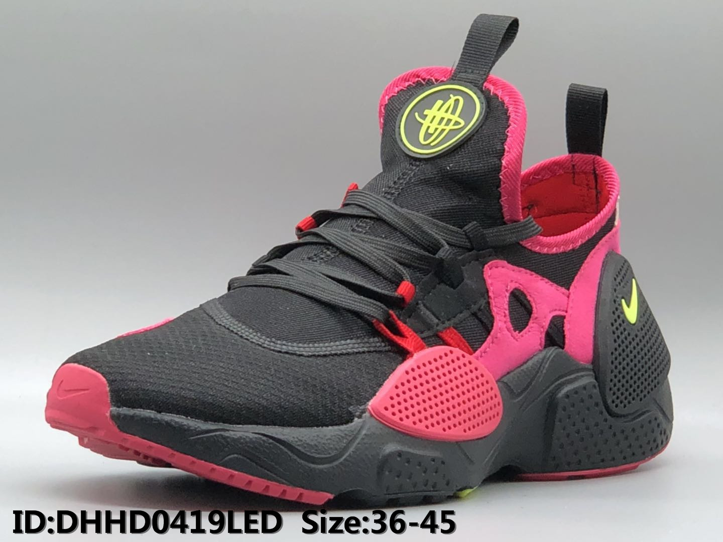2019 Nike Air Huarache 7 Black Red