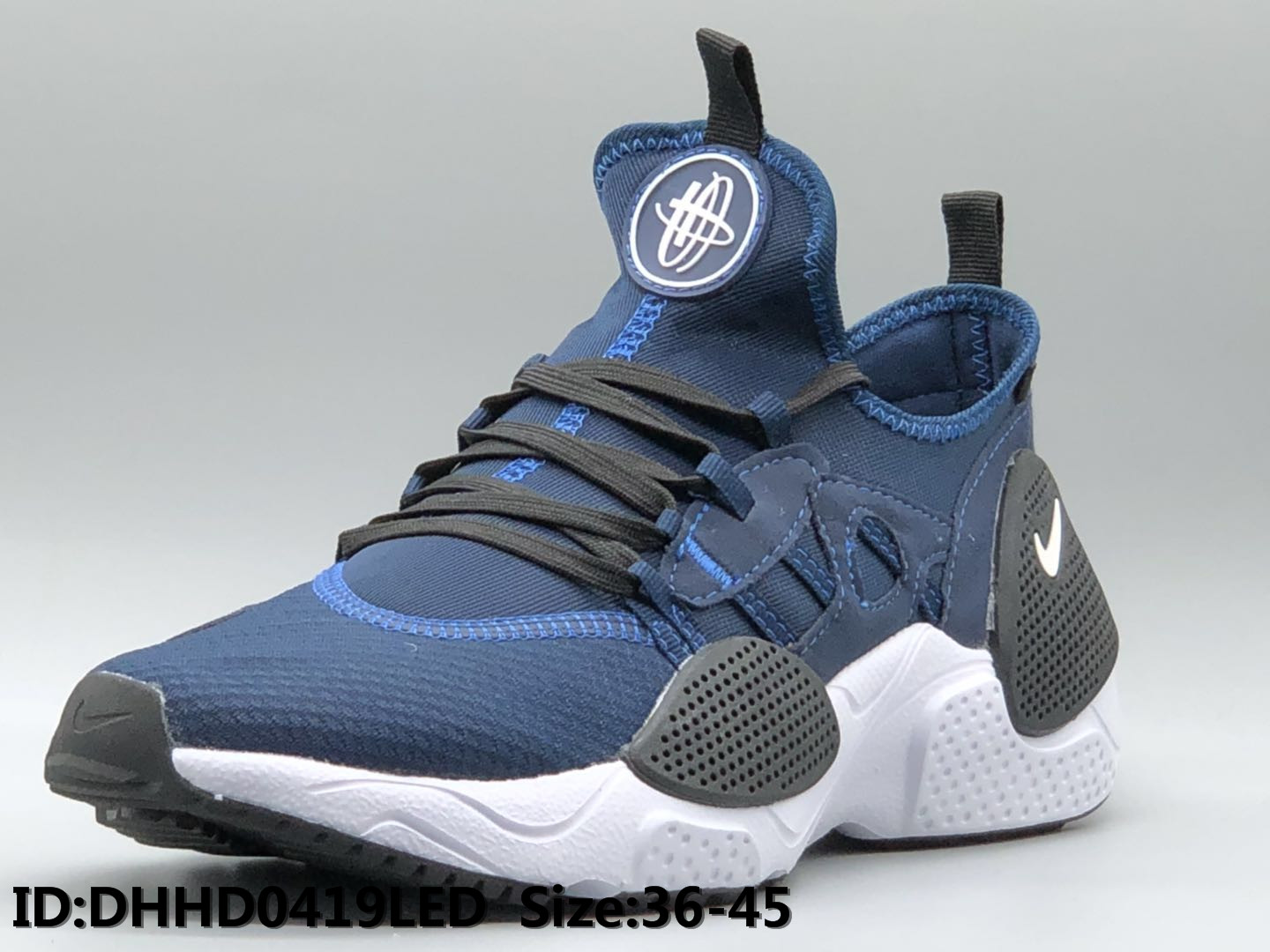 Nike Air Huarache 7 Blue Black White Shoes
