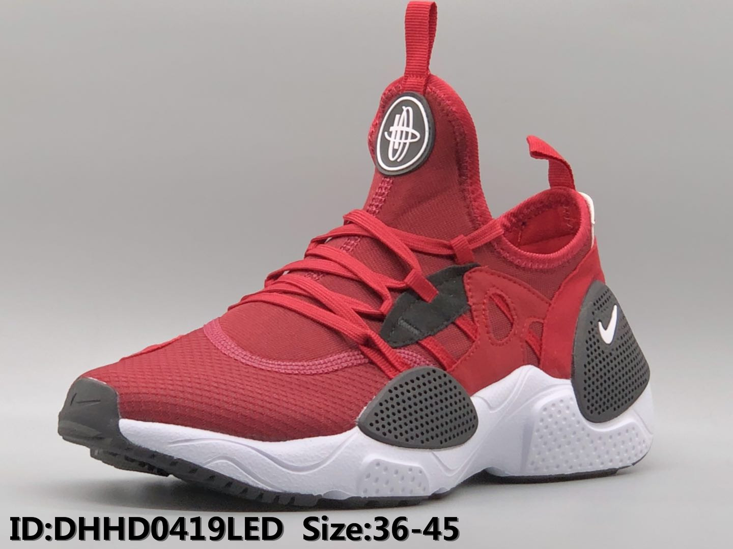 Nike Air Huarache 7 Red Black White Shoes