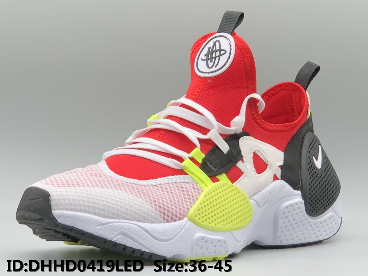 2019 Nike Air Huarache 7 Red White Black