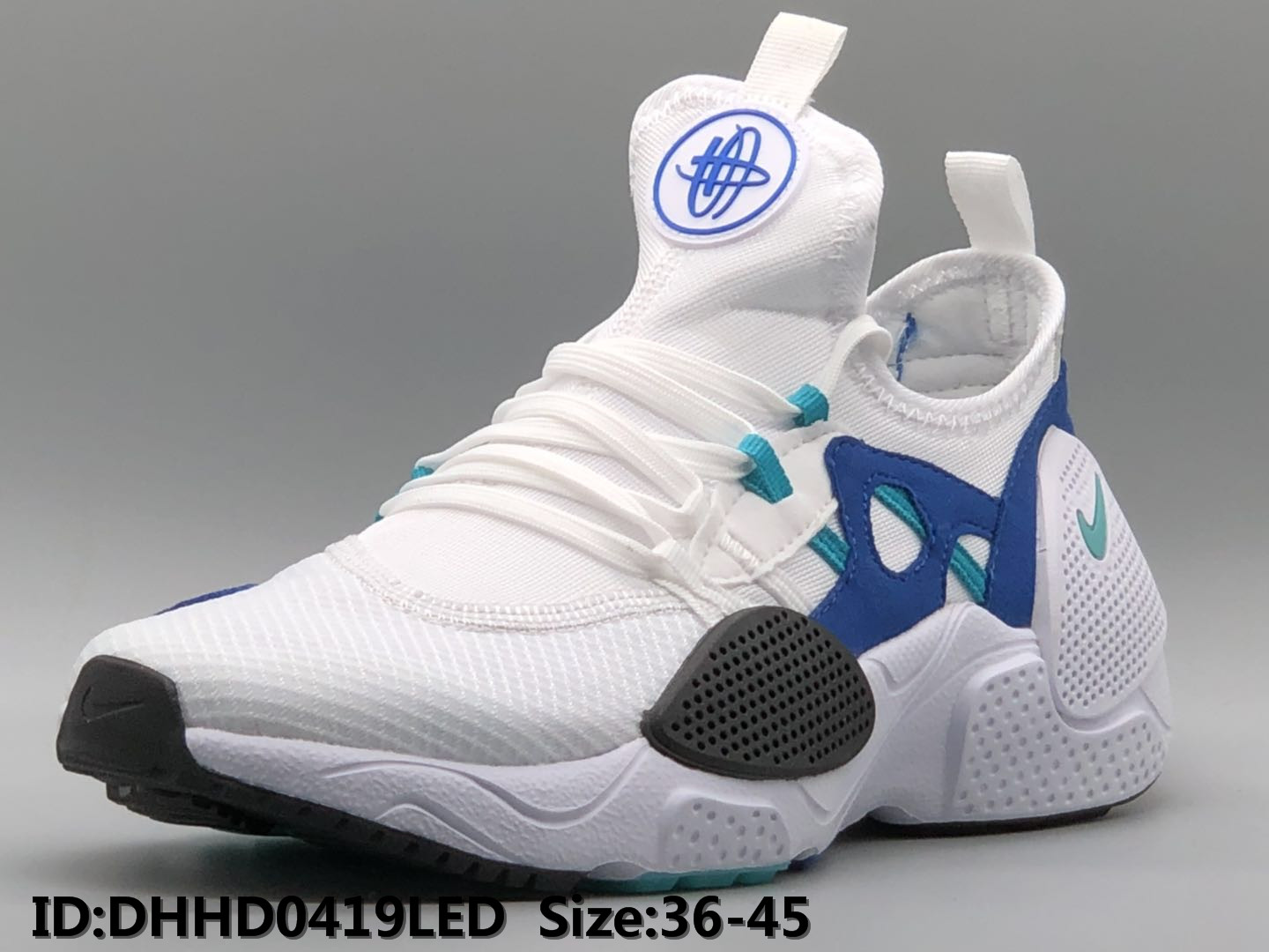 2019 Nike Air Huarache 7 White Blue