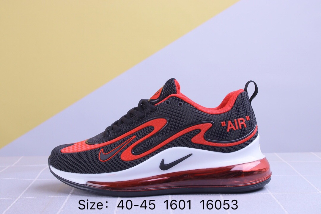 Nike Air Max 720 Black Red White Shoes