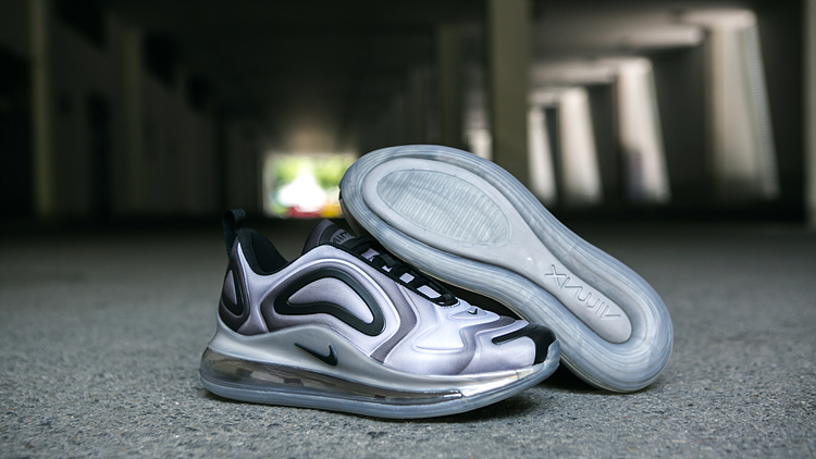 Nike Air Max 720 Silver Black Shoes