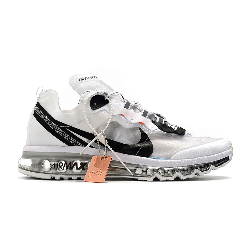 2019 Nike Air Max 87 x MAX2017 White Silver Black