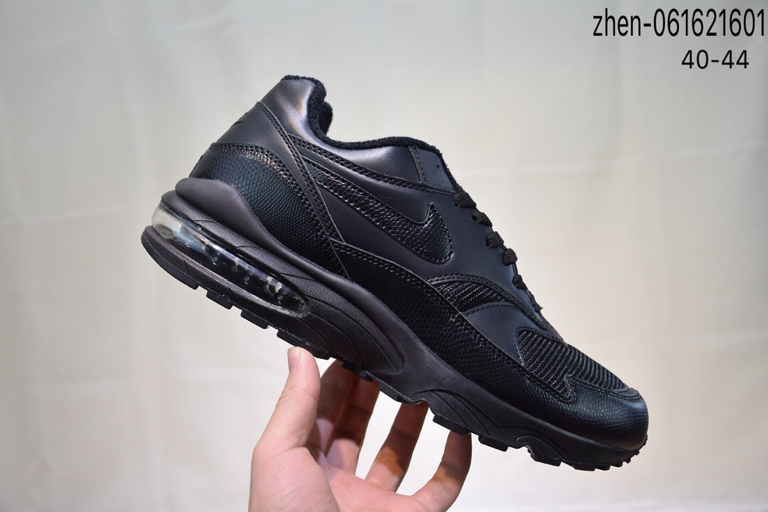 Real Nike Air Max 93 All Black