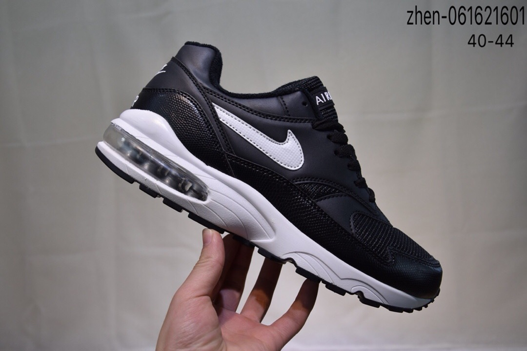 Real Nike Air Max 93 Black White