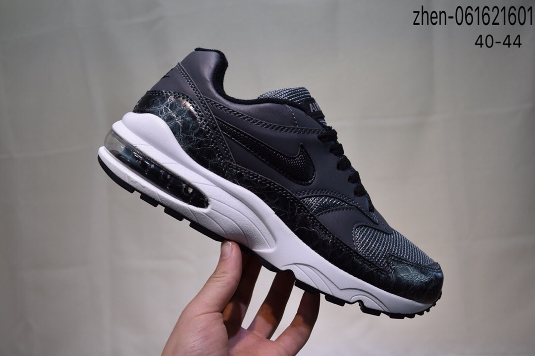 Real Nike Air Max 93 Carbon Grey White