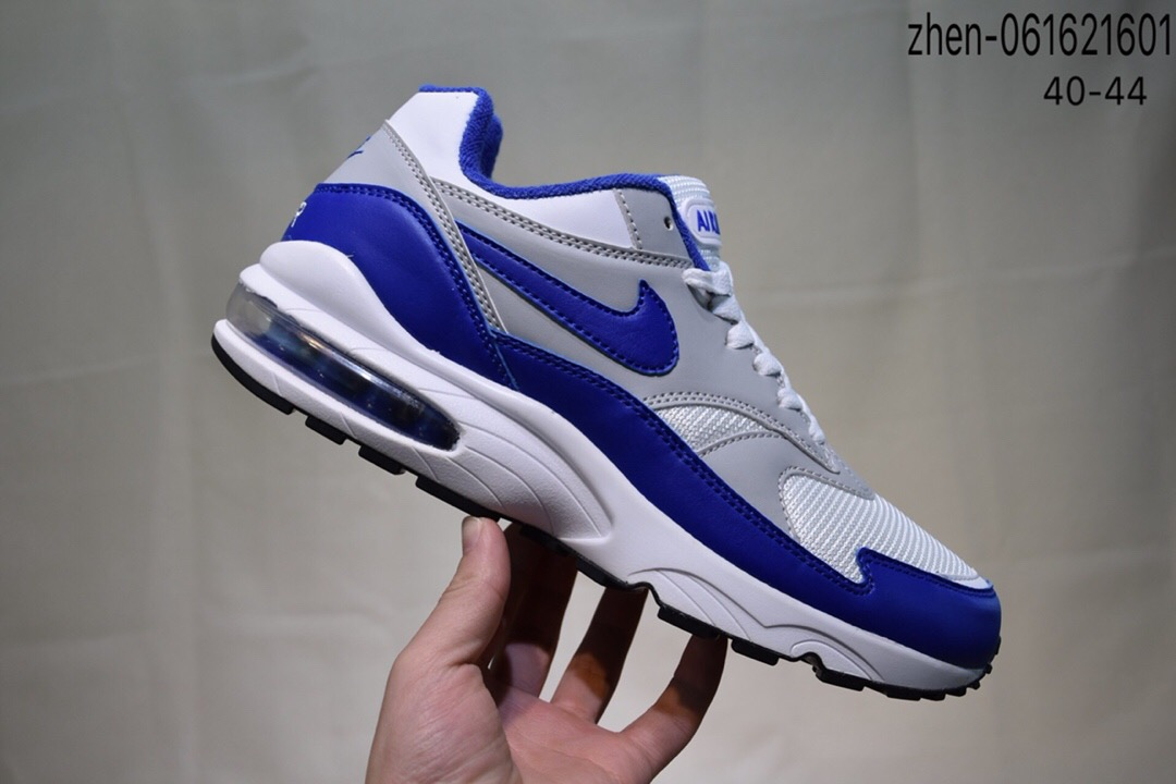 Real Nike Air Max 93 White Grey Blue