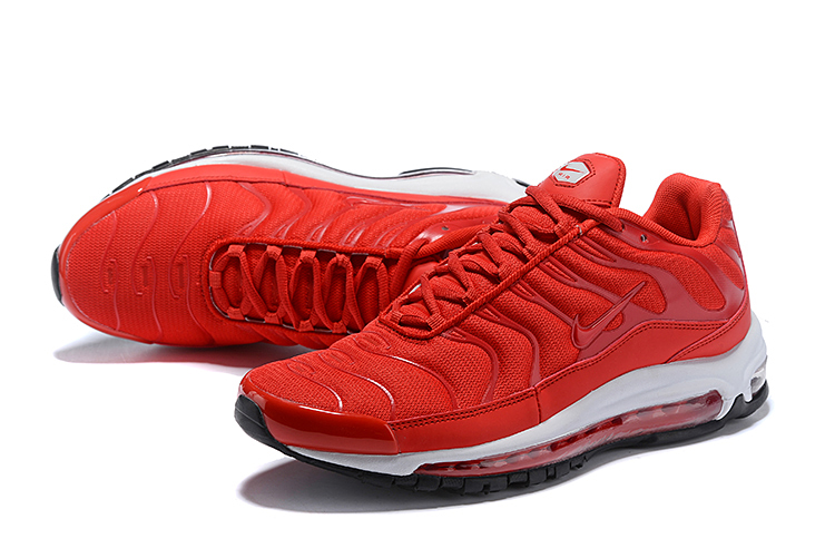 Nike Air Max 97 Plus Red White Shoes