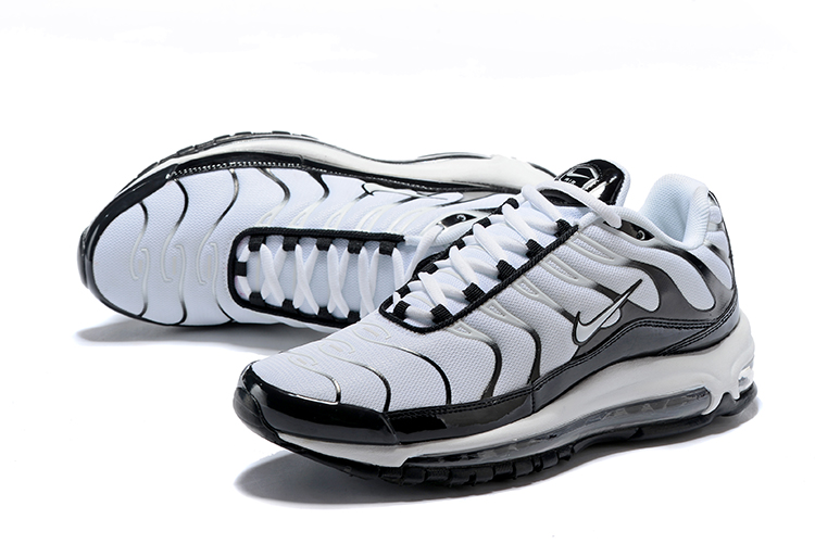 Nike Air Max 97 Plus White Black Shoes