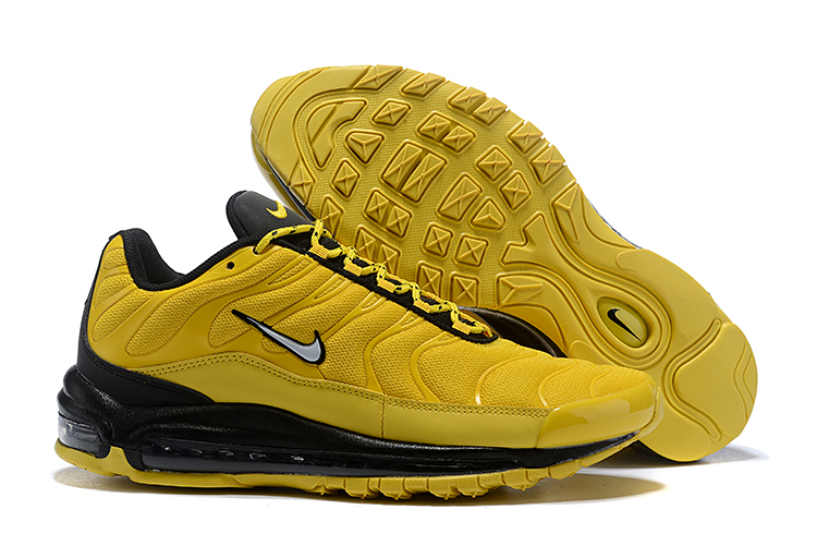 Nike Air Max 97 Plus Yellow Black Shoes