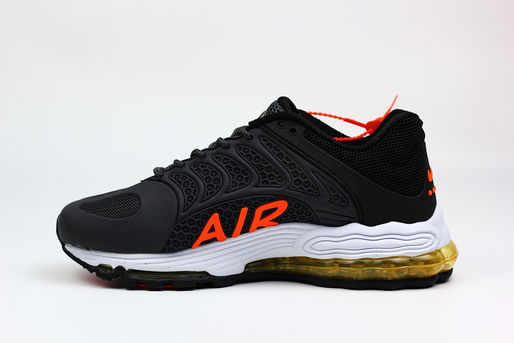 New Nike Air Max 99 Black Orange Shoes
