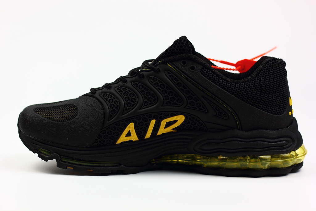 New Nike Air Max 99 Black Yellow Shoes