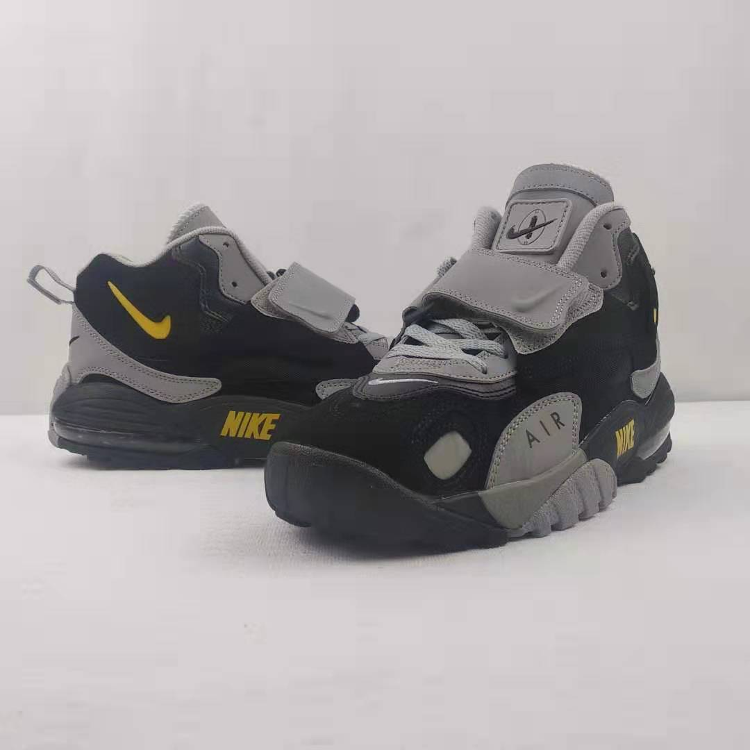 2019 Nike Air Max Speed Truf Black Grey Yellow For Women