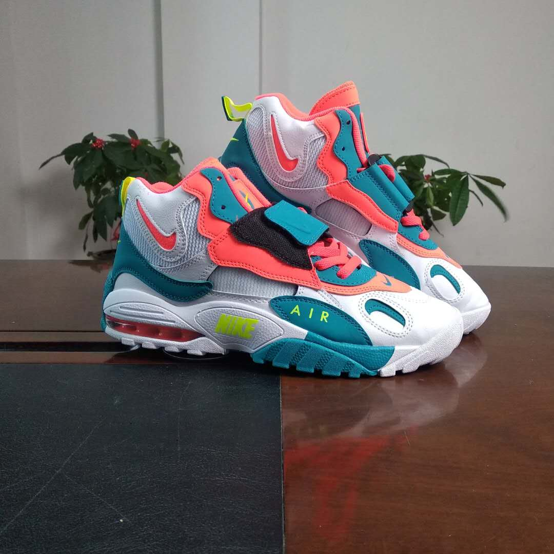 2019 Nike Air Max Speed Truf White Jade Blue Orange Green For Women