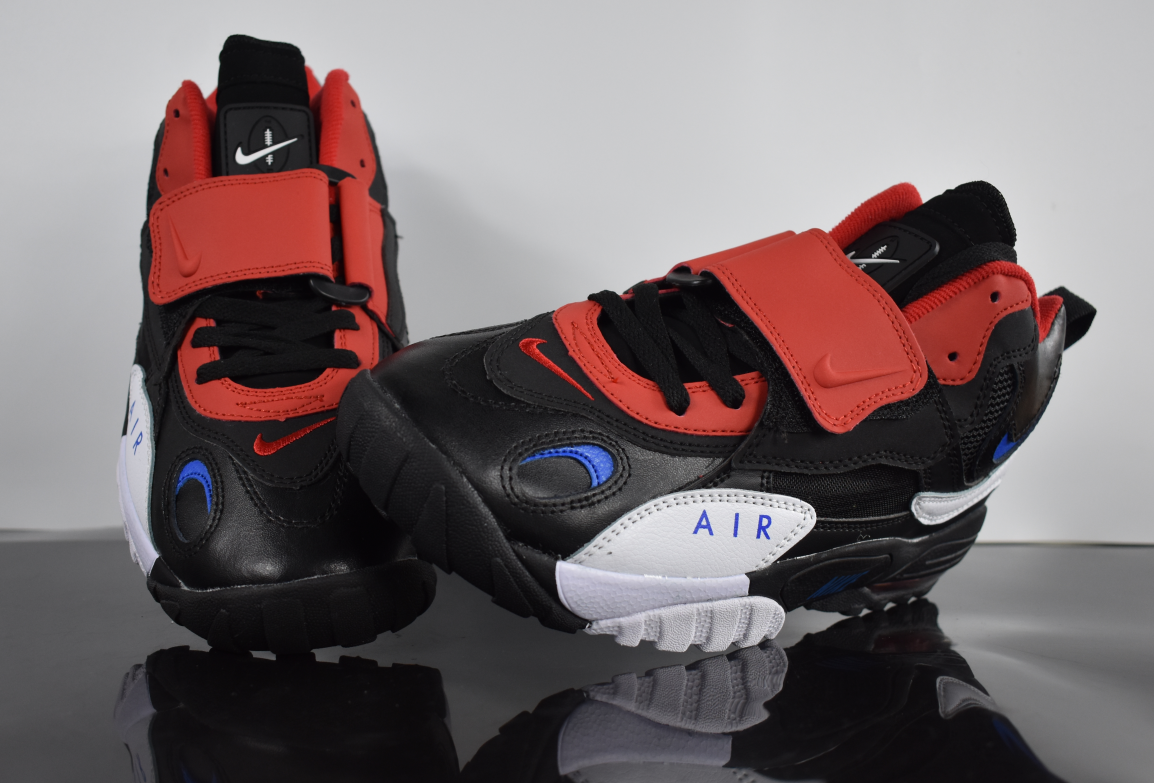 2019 Nike Air Max Speed Turf Black White Red Blue For Women