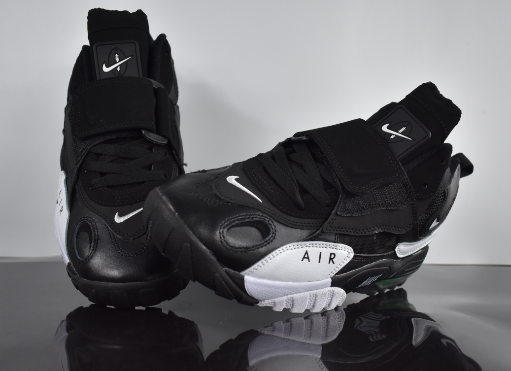 2019 Nike Air Max Speed Turf Cool Black White For Women