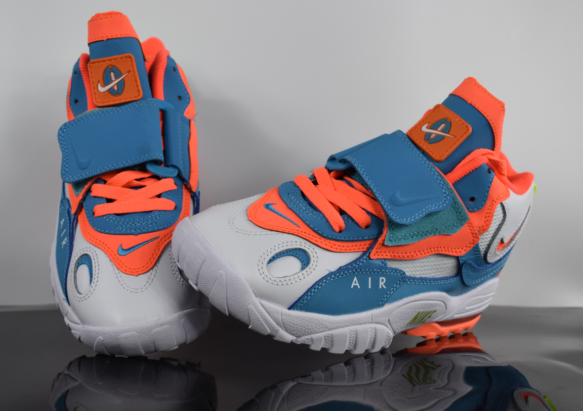 2019 New Nike Air Max Speed Turf Grey Blue Orange