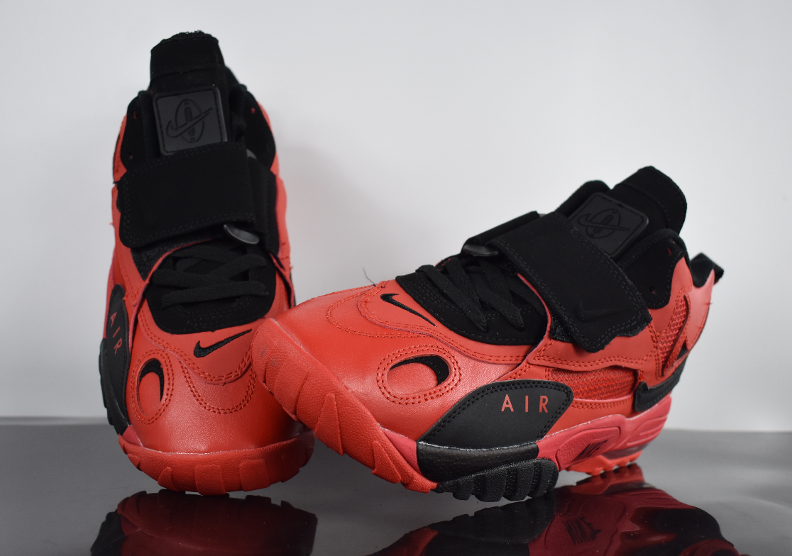 2019 New Nike Air Max Speed Turf Red Black