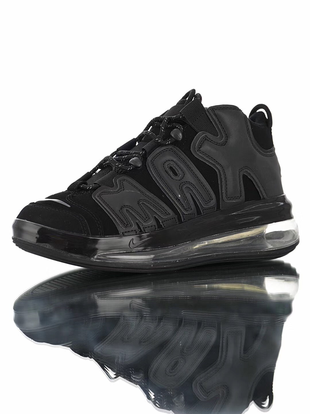 Cheap Real Nike Air More Uptempo 720 QS9 Black