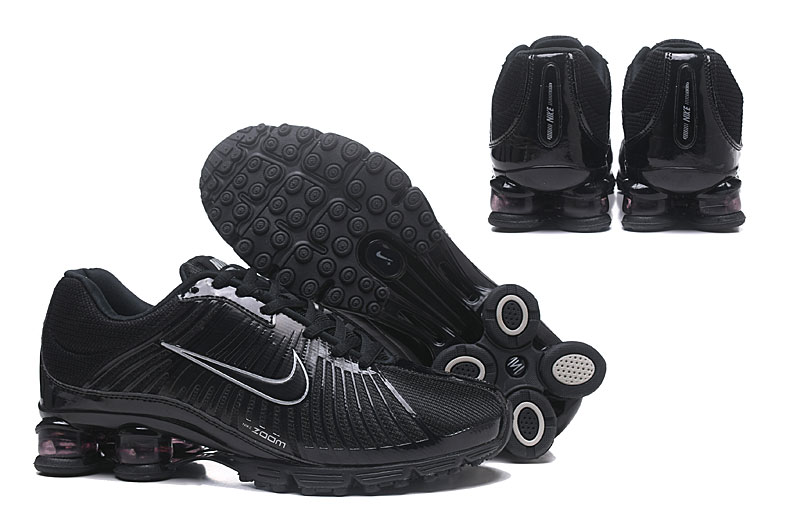 Nike Air Shox 625 All Black Silver