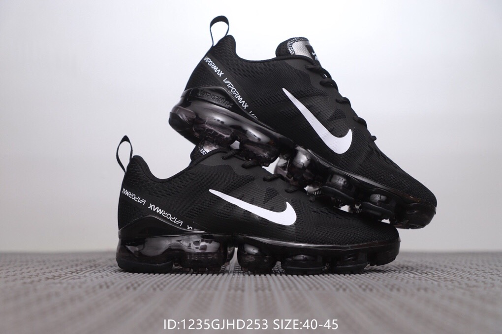 Nike Air VaporMax 2019 Black White Shoes