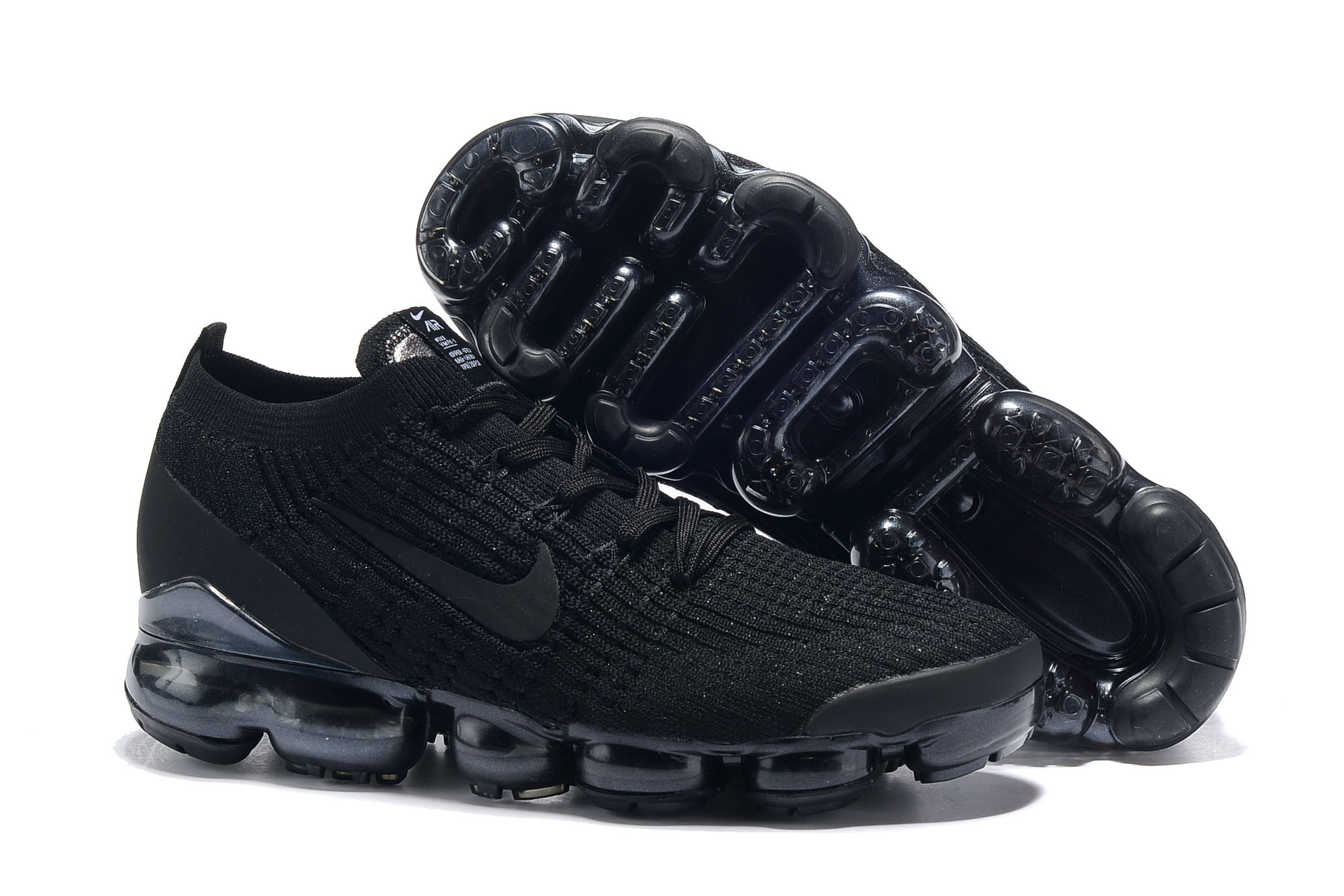 Nike Air VaporMax 2019 Flyknit All Black Shoes