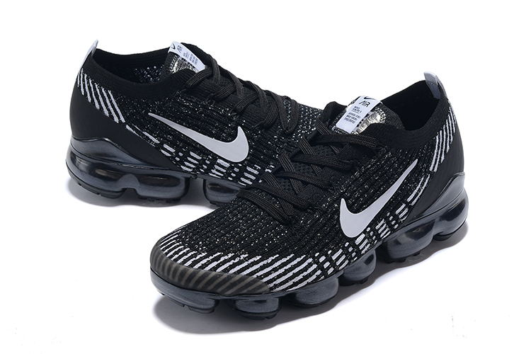 Nike Air VaporMax 2019 Flyknit Black Grey Shoes
