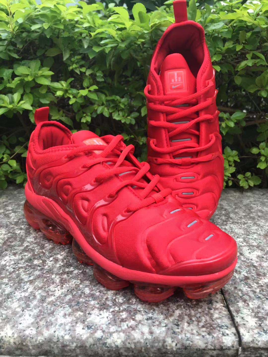Nike Air Vapormax Plus 2018 TN All Red Shoes
